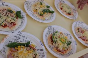地域の親子クッキング「ピザ作り」を開催しました!